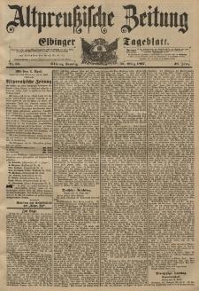 Altpreussische Zeitung, Nr. 68 Sonntag 21 März 1897, 49. Jahrgang