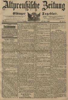 Altpreussische Zeitung, Nr. 75 Dienstag 30 März 1897, 49. Jahrgang