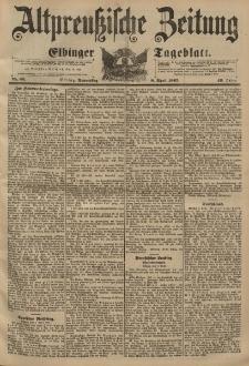Altpreussische Zeitung, Nr. 83 Donnerstag 8 April 1897, 49. Jahrgang