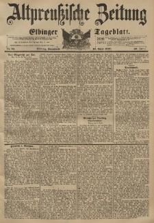Altpreussische Zeitung, Nr. 85 Sonnabend 10 April 1897, 49. Jahrgang