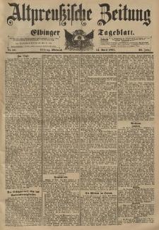 Altpreussische Zeitung, Nr. 88 Mittwoch 14 April 1897, 49. Jahrgang