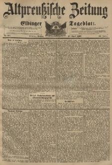 Altpreussische Zeitung, Nr. 90 Freitag 16 April 1897, 49. Jahrgang