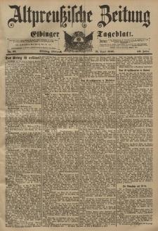 Altpreussische Zeitung, Nr. 92 Mittwoch 21 April 1897, 49. Jahrgang