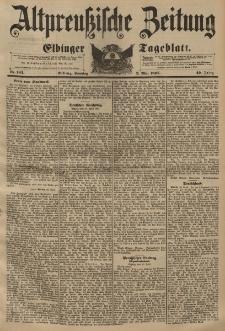 Altpreussische Zeitung, Nr. 102 Sonntag 2 Mai 1897, 49. Jahrgang