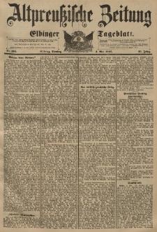 Altpreussische Zeitung, Nr. 103 Dienstag 4 Mai 1897, 49. Jahrgang