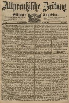 Altpreussische Zeitung, Nr. 104 Mittwoch 5 Mai 1897, 49. Jahrgang