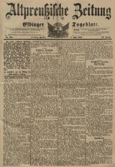 Altpreussische Zeitung, Nr. 106 Freitag 7 Mai 1897, 49. Jahrgang