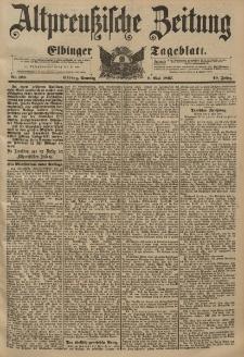Altpreussische Zeitung, Nr. 108 Sonntag 9 Mai 1897, 49. Jahrgang