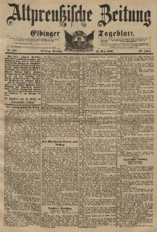Altpreussische Zeitung, Nr. 109 Dienstag 11 Mai 1897, 49. Jahrgang