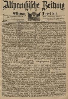 Altpreussische Zeitung, Nr. 110 Mittwoch 12 Mai 1897, 49. Jahrgang