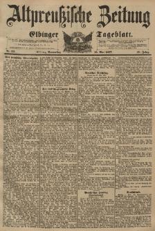 Altpreussische Zeitung, Nr. 111 Donnerstag 13 Mai 1897, 49. Jahrgang