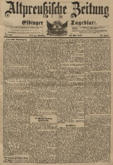 Altpreussische Zeitung, Nr. 114 Sonntag 16 Mai 1897, 49. Jahrgang