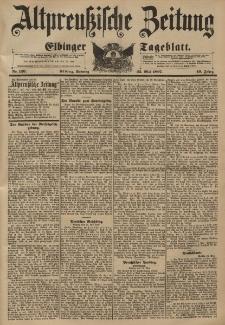 Altpreussische Zeitung, Nr. 120 Sonntag 23 Mai 1897, 49. Jahrgang