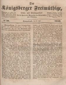 Der Königsberger Freimüthige, Nr. 78 Sonnabend, 2 Juli 1853