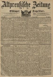 Altpreussische Zeitung, Nr. 132 Mittwoch 9 Juni 1897, 49. Jahrgang