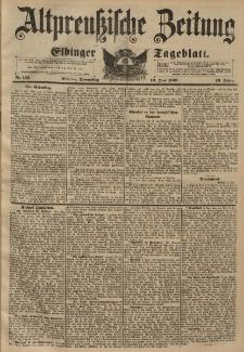 Altpreussische Zeitung, Nr. 133 Donnerstag 10 Juni 1897, 49. Jahrgang
