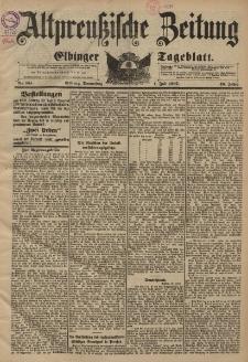 Altpreussische Zeitung, Nr. 151 Donnerstag 1 Juli 1897, 49. Jahrgang