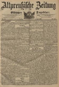 Altpreussische Zeitung, Nr. 155 Dienstag 6 Juli 1897, 49. Jahrgang