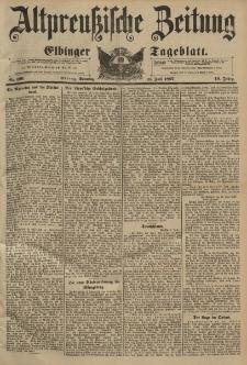Altpreussische Zeitung, Nr. 160 Sonntag 11 Juli 1897, 49. Jahrgang