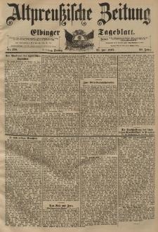 Altpreussische Zeitung, Nr. 170 Freitag 23 Juli 1897, 49. Jahrgang