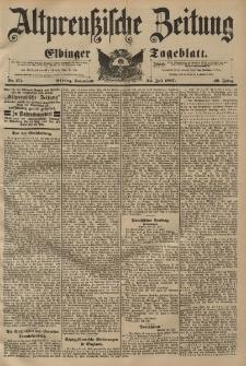 Altpreussische Zeitung, Nr. 171 Sonnabend 24 Juli 1897, 49. Jahrgang