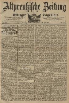 Altpreussische Zeitung, Nr. 173 Dienstag 27 Juli 1897, 49. Jahrgang