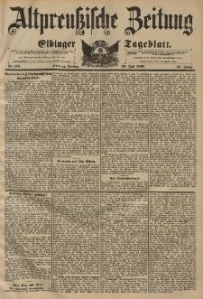 Altpreussische Zeitung, Nr. 174 Mittwoch 28 Juli 1897, 49. Jahrgang