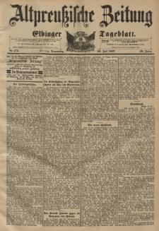 Altpreussische Zeitung, Nr. 175 Donnerstag 29 Juli 1897, 49. Jahrgang