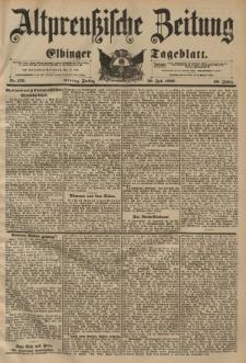 Altpreussische Zeitung, Nr. 176 Freitag 30 Juli 1897, 49. Jahrgang