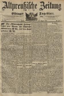 Altpreussische Zeitung, Nr. 194 Freitag 20 August 1897, 49. Jahrgang