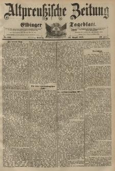 Altpreussische Zeitung, Nr. 202 Sonntag 29 August 1897, 49. Jahrgang