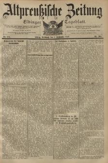 Altpreussische Zeitung, Nr. 204 Mittwoch 1 September 1897, 49. Jahrgang