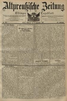 Altpreussische Zeitung, Nr. 210 Mittwoch 8 September 1897, 49. Jahrgang