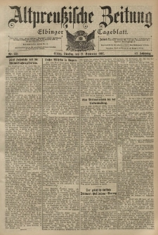 Altpreussische Zeitung, Nr. 221 Dienstag 21 September 1897, 49. Jahrgang