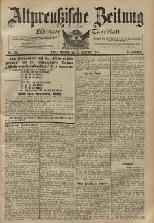 Altpreussische Zeitung, Nr. 222 Mittwoch 22 September 1897, 49. Jahrgang