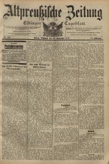 Altpreussische Zeitung, Nr. 228 Mittwoch 29 September 1897, 49. Jahrgang