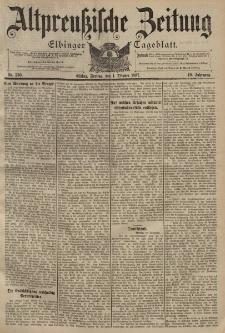 Altpreussische Zeitung, Nr. 230 Freitag 1 Oktober 1897, 49. Jahrgang