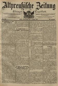 Altpreussische Zeitung, Nr. 237 Sonnabend 9 Oktober 1897, 49. Jahrgang