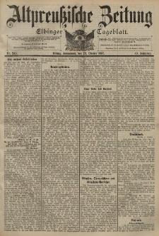 Altpreussische Zeitung, Nr. 247 Donnerstag 21 Oktober 1897, 49. Jahrgang