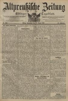 Altpreussische Zeitung, Nr. 249 Sonnabend 23 Oktober 1897, 49. Jahrgang