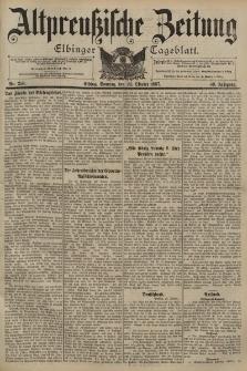 Altpreussische Zeitung, Nr. 250 Sonntag 24 Oktober 1897, 49. Jahrgang