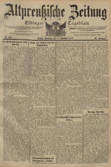 Altpreussische Zeitung, Nr. 264 Mittwoch 10 November 1897, 49. Jahrgang