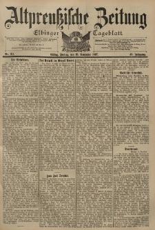 Altpreussische Zeitung, Nr. 271 Freitag 19 November 1897, 49. Jahrgang