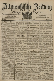 Altpreussische Zeitung, Nr. 283 Freitag 3 Dezember 1897, 49. Jahrgang