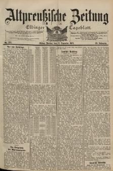 Altpreussische Zeitung, Nr. 295 Freitag 17 Dezember 1897, 49. Jahrgang