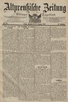 Altpreussische Zeitung, Nr. 304 Mittwoch 29 Dezember 1897, 49. Jahrgang