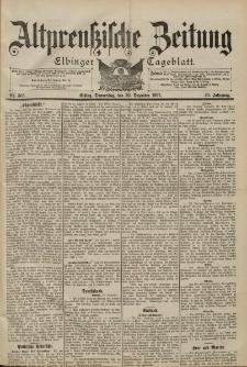 Altpreussische Zeitung, Nr. 305 Donnerstag 30 Dezember 1897, 49. Jahrgang