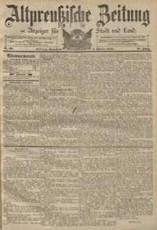 Altpreussische Zeitung, Nr. 28 Sonnabend 2 Februar 1889, 41. Jahrgang