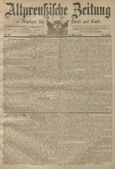 Altpreussische Zeitung, Nr. 55 Mittwoch 6 März 1889, 41. Jahrgang
