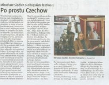 Po prostu Czechow - wycinek prasowy